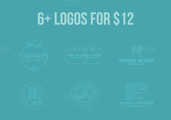 6 Logos For $12