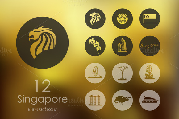 12 Singapore Icons
