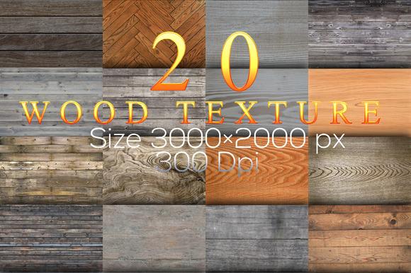 20 Wood Texture V.2015.07.11