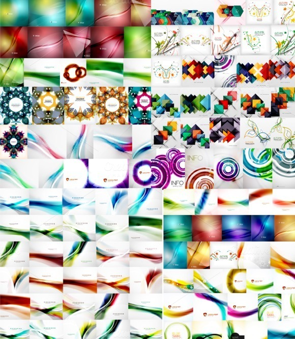 100 Abstract Backgrounds