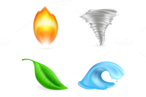 Natural Elements Icons