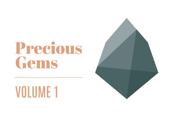 Precious Gems 20 Sharp Stones