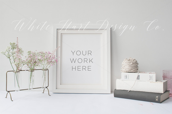 Frame Mock Up Stock Photography