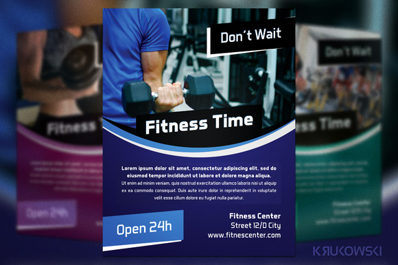 Fitness Time Flyer
