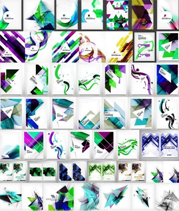 Universal Backgrounds Large Set