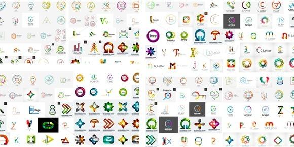 Huge Set Of Logotypes