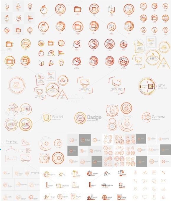 Mega Collection Of Modern Logos