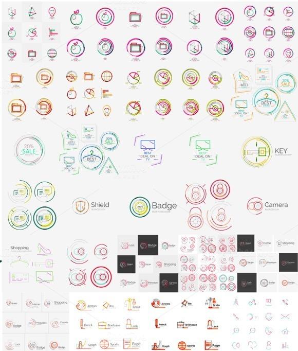 Mega Collection Of Line Logos