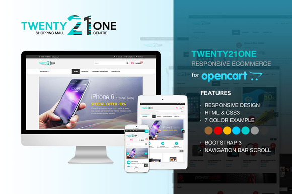 Twenty21One OpenCart
