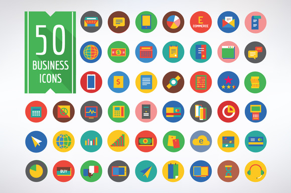 Business Vector Logo Icons Set
