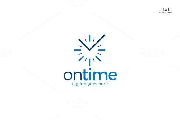 On Time Logo