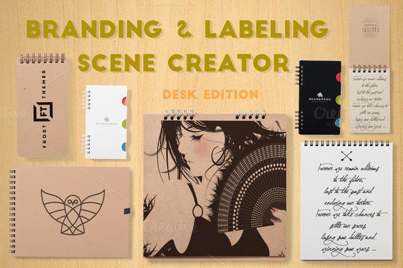 Branding Labeling Scene Creator