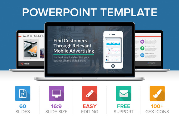 Flatly PowerPoint Template