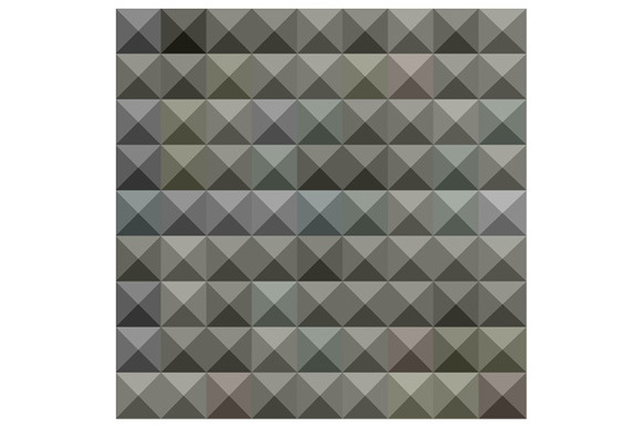Argent Grey Abstract Low Polygon Bac