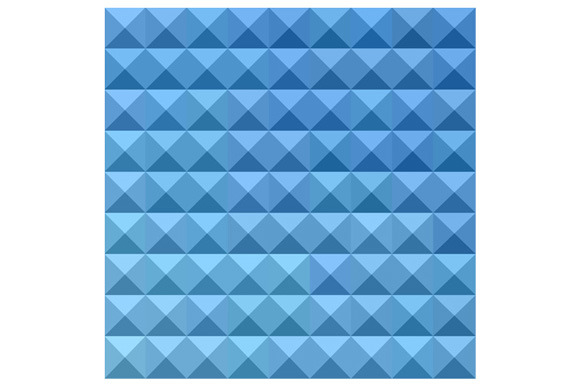Cornflower Blue Abstract Low Polygon