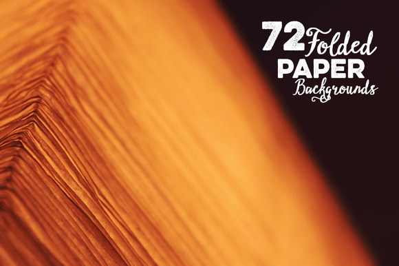 72 Folded Paper Backgrounds