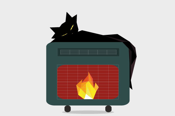 Cats Love Heaters