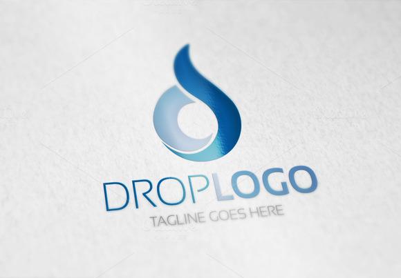 Drop D Letter Logo