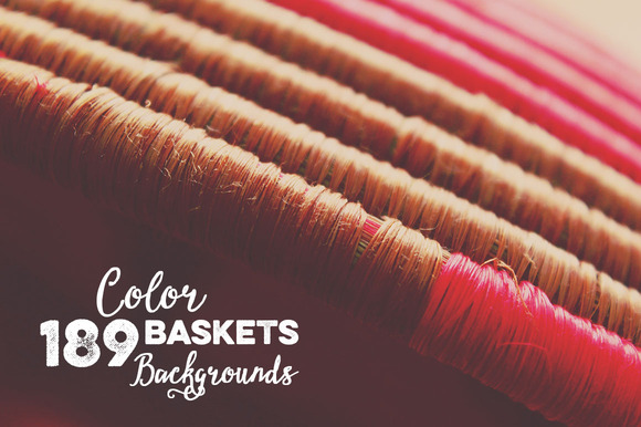 189 Color Baskets Backgrounds
