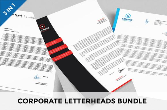 Corporate Letterheads Bundle Vol.2