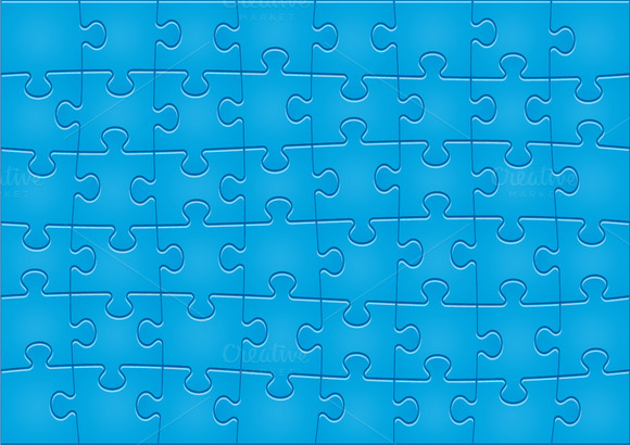 Jigsaw Puzzle Pattern 48 Pieces