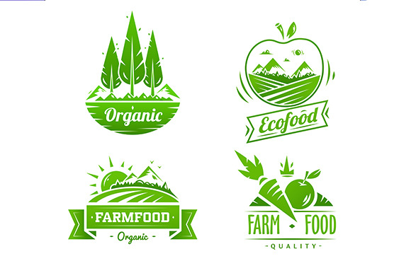 Farm Food Typography Design
