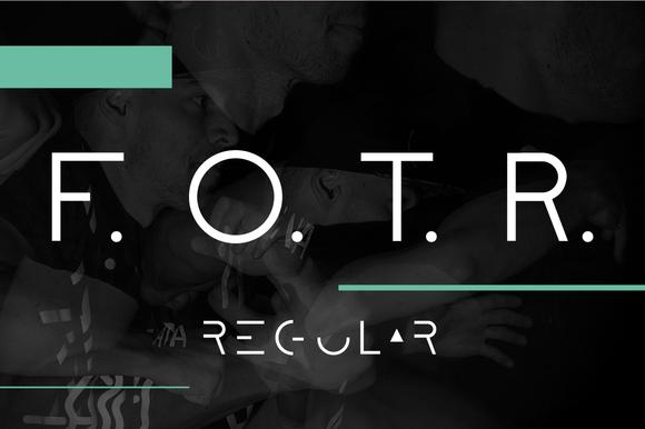 F O T R Regular