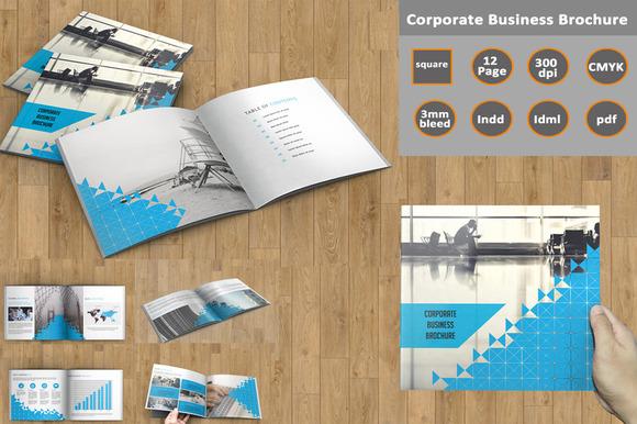 Corporate Brochure InDesign