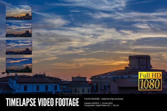 Timelapse Video Footage 01