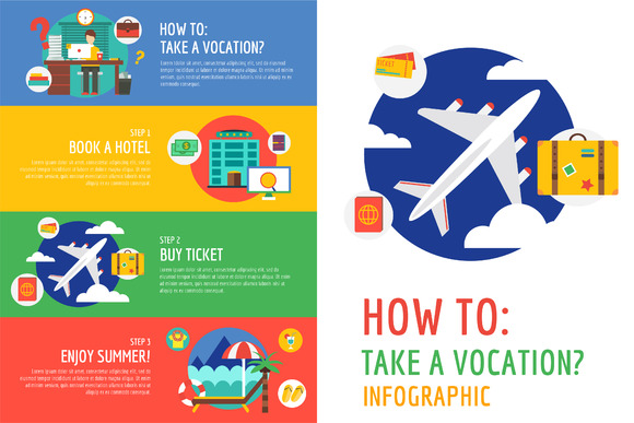 Vocation Summer Travel Infographic