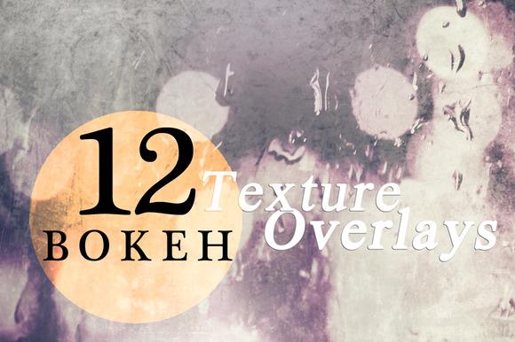 12 Bokeh Texture Overlays