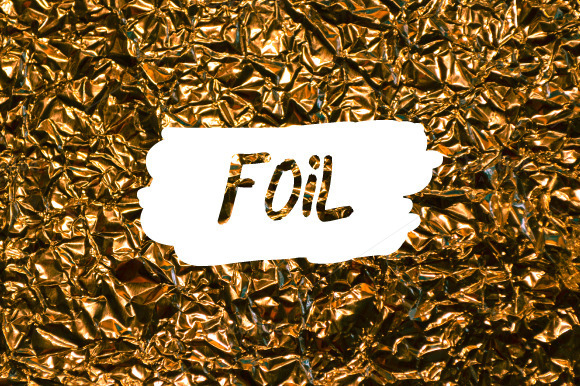 3 Foil Textures Background