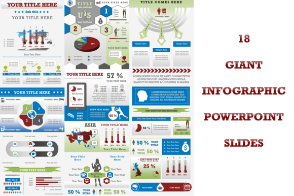 18 Giant Infographic Slides PowerP