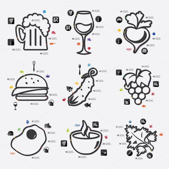 9 Restaurant Infographic