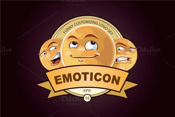 Customizing Logo With Emoticons