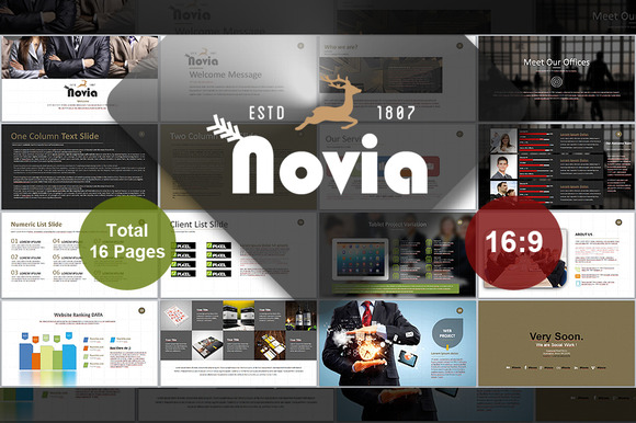 Novia PowerPoint Template