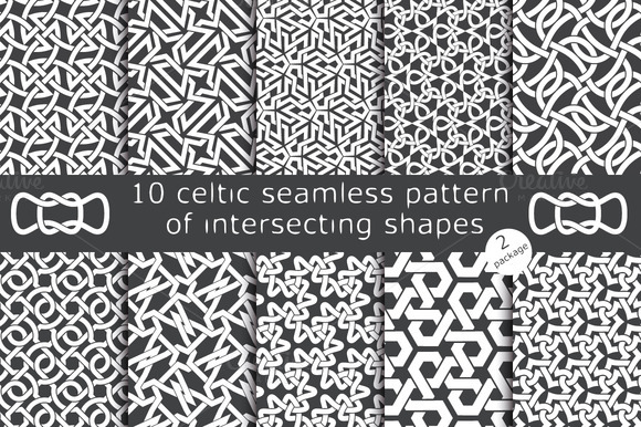 10 Celtic Patterns Package 2