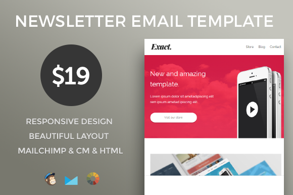 Modern Newsletter Email Template
