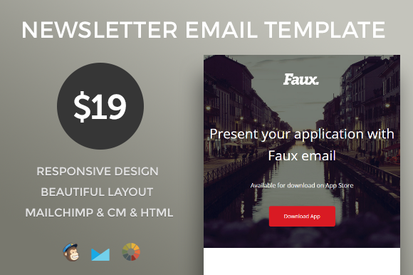 Business E-mail Newsletter Template