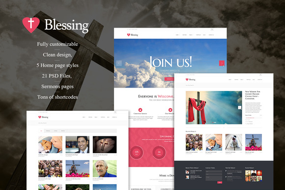 Blessing Non-profit WordPress Theme