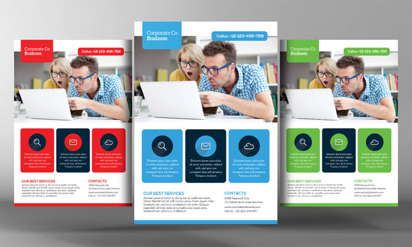 Multiuse Business Flyer Template