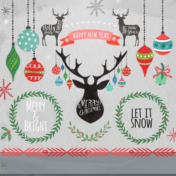 Christmas Clipart Christmas Ornamen