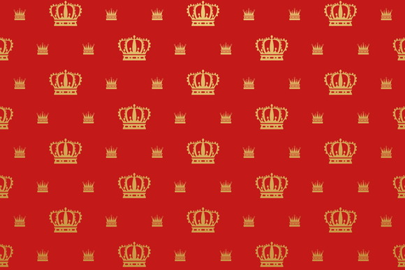 Wallpaper Vintage Royal Style