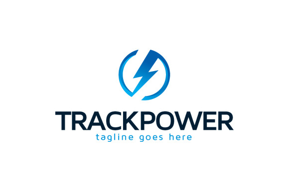 Track Power Logo Template Design