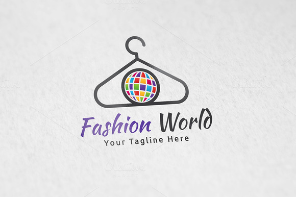 Fashion World Logo Template