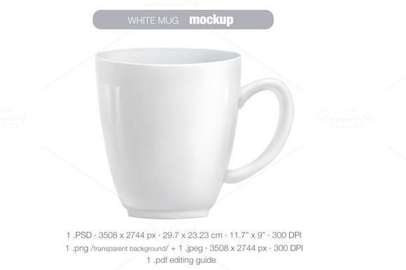 White Mug MOCK UP