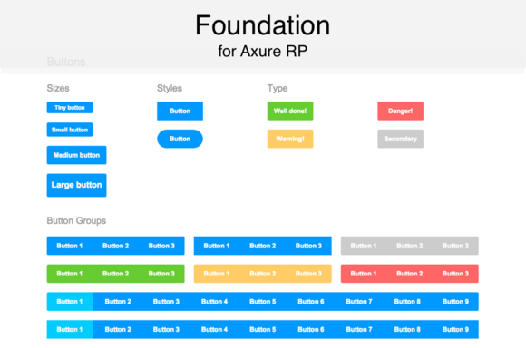 Axure Widget Library Foundation