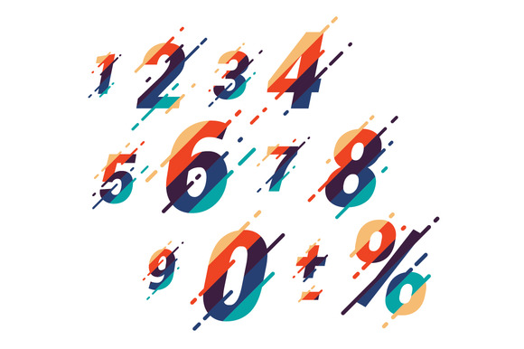 Abstract Vector Numbers