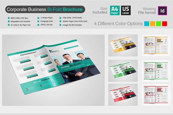 Corporate Bi-Fold Brochure V2