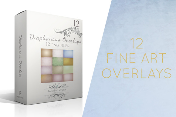 Diaphanous Fine Art Overlays